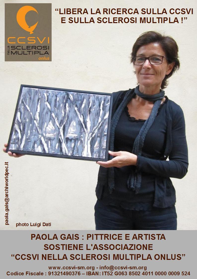 """Paola Gais per la campagna """"Libera la ricerca sulla CCSVI e sulla Sclerosi Multipla!"""""""