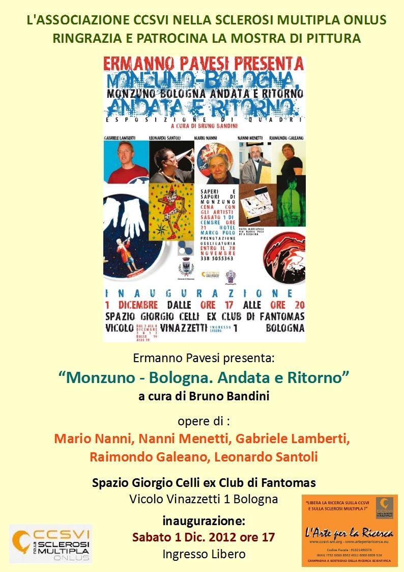 """Mostra di pittura """"Monzuno Bologna, Andata e Ritorno"""""""