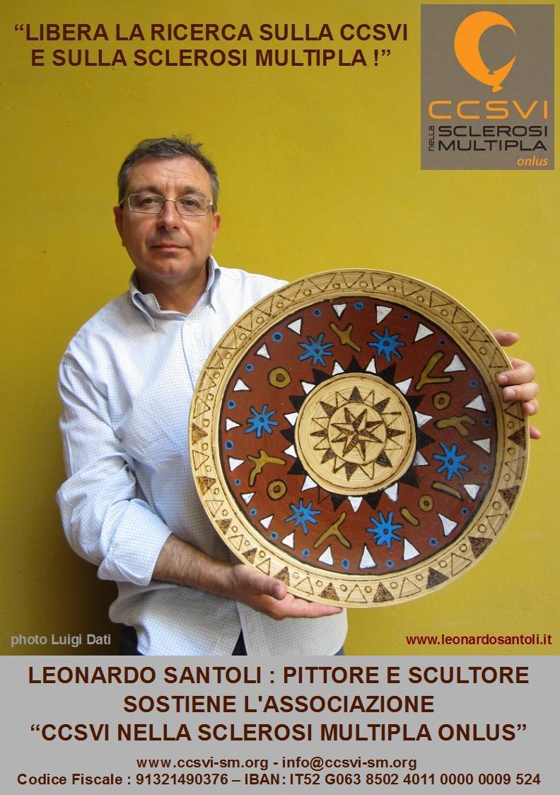 """Leonardo Santoli per la campagna """"Libera la ricerca sulla CCSVI e sulla Sclerosi Multipla!"""""""