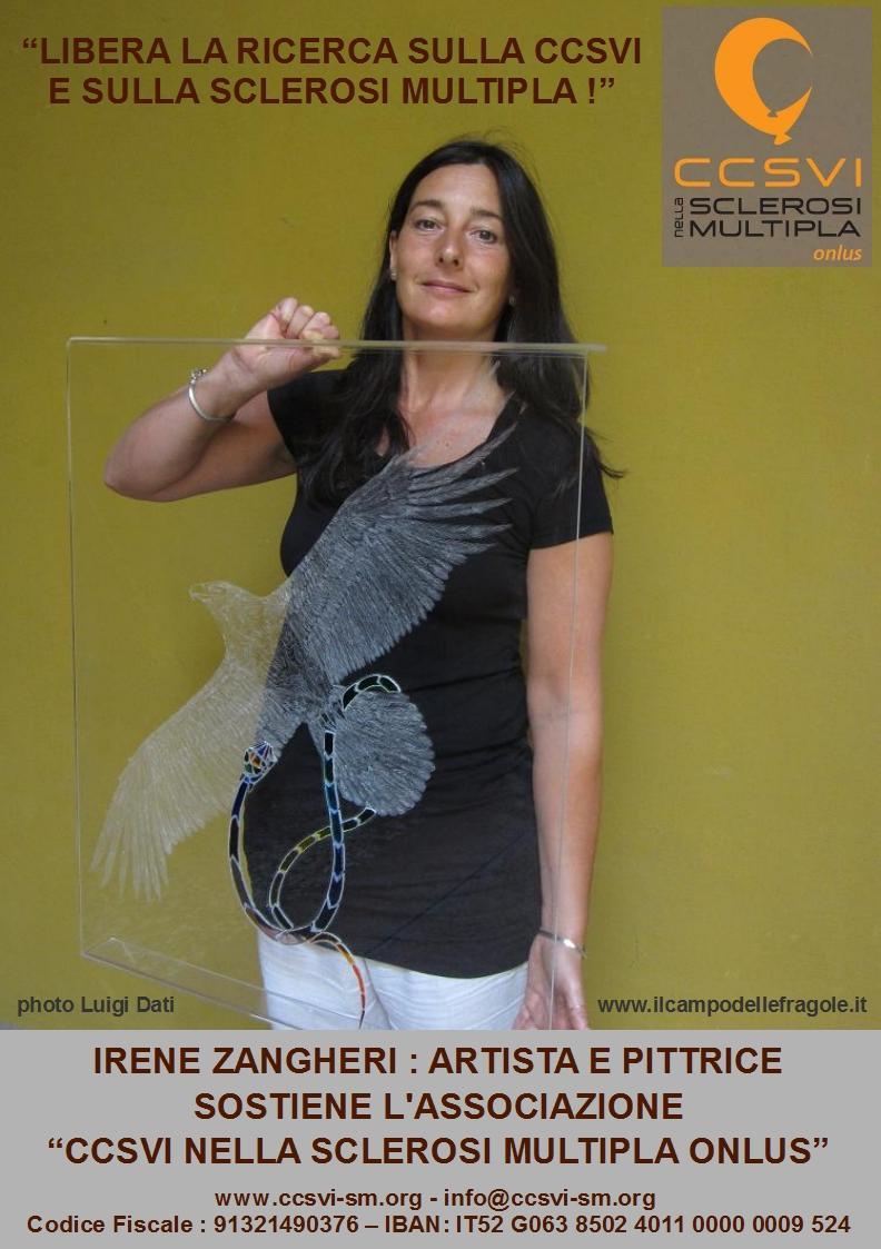 """Irene Zangheri per la campagna """"Libera la ricerca sulla CCSVI e sulla Sclerosi Multipla!"""""""