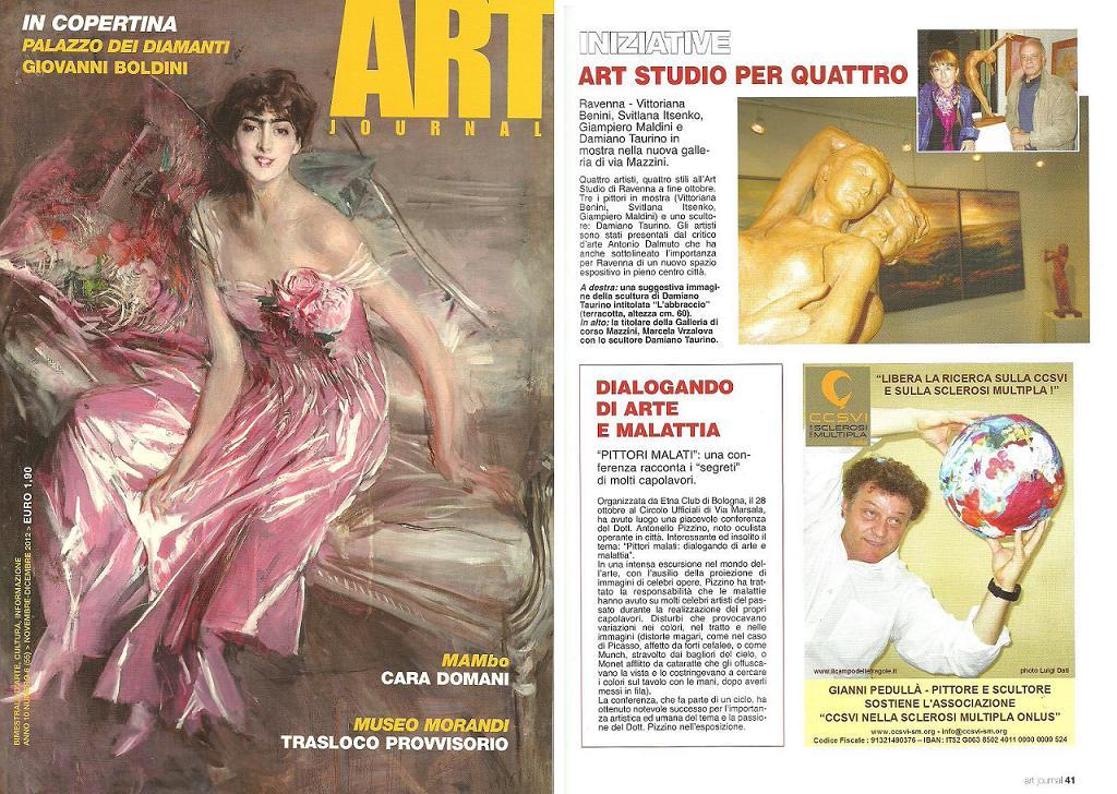 Art Journal Novembre Dicembre 2012